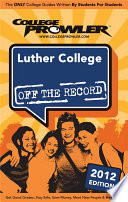 Luther College 2012 Book PDF
