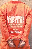 Examining Torture Book