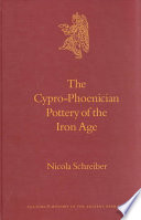 The Cypro Phoenician Pottery Of The Iron Age