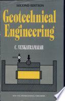 """""""Geotechnical Engineering"""" by C Venkatramaiah"""