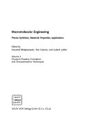 Macromolecular Engineering  4 Volume Set
