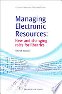 Managing Electronic Resources Book PDF