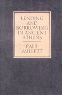 Lending and Borrowing in Ancient Athens
