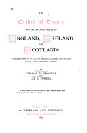 The Cathedral Towns and Intervening Places of England, Ireland and Scotland