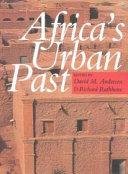 Africa's Urban Past