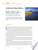 California Water Myths Book PDF