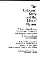 The Holocaust story and the lies of Ulysses