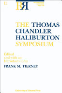 The Thomas Chandler Haliburton Symposium [Pdf/ePub] eBook