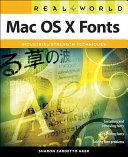 Real World Mac OS X Fonts Pdf/ePub eBook