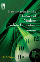 Landmarks in the History of Modern Indian Education  7th Edition