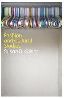 Fashion and Cultural Studies Pdf/ePub eBook