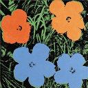 Jeff Koons Andy Warhol Flowers