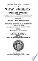 Historical Collections of New Jersey, Past and Present