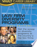 Vault Guide to Law Firm Diversity Programs