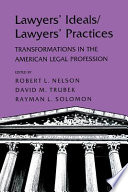 Lawyers  Ideals lawyers  Practices