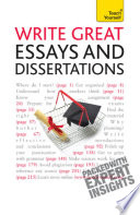 Write Great Essays And Dissertations Teach Yourself Ebook Epub