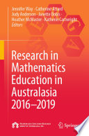 Research in Mathematics Education in Australasia 2016   2019