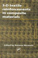 3 D Textile Reinforcements In Composite Materials