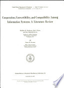 Cooperation Convertibility And Compatibility Among Information Systems