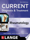 Current Diagnosis Treatment In Rheumatology Third Edition