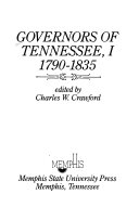 Governors of Tennessee: 1790-1835