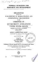 Federal Budgeting For Research And Development 87 1 1961
