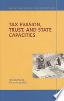 Tax Evasion Trust And State Capacities