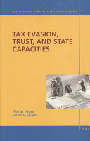 Pdf Tax Evasion, Trust and State Capacities