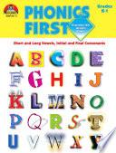 Phonics First Grades K 1 Enhanced Ebook