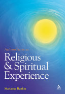 Pdf An Introduction to Religious and Spiritual Experience