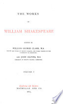 The Works of William Shakespeare  The tempest  The two gentlemen of Verona  The merry wives of Windsor  Measure for measure  The comedy of errors Book