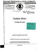 Gustave Gimon : un citoyen hors norme
