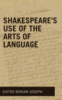 Shakespeare s Use of the Arts of Language