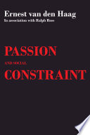 Passion And Social Constraint Book PDF