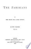 Lord Lytton s Novels    27  The Parisians