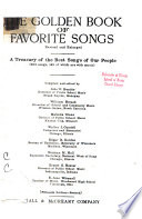 The Golden Book of Favorite Songs    Book PDF