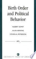 Read Online Birth Order and Political Behavior For Free