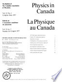 Physics in Canada