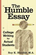 The Humble Essay