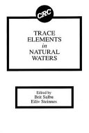 Trace Elements in Natural Waters