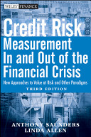 Cover of Credit Risk Management In and Out of the Financial Crisis