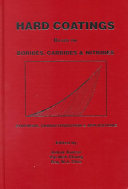 Hard Coatings Based on Borides  Carbides   Nitrides Book