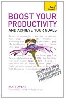 Boost Your Productivity and Achieve Your Goals  Teach Yourself Ebook Epub