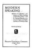 Modern Speaking