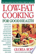Low Fat Cooking For Good Health Book PDF