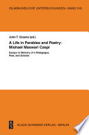 A Life in Parables and Poetry  Mishael Maswari Caspi