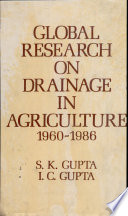 Global Research On Drainage In Agriculture