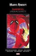 Pdf Marvel Knights Daredevil By Bendis, Jenkins, Gale & Mack