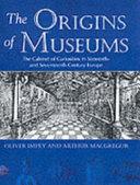 Pdf The Origins of Museums
