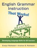 English Grammar Instruction That Works